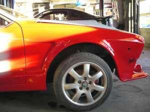 car 2 GTV6 w-all metal bodywork no title IV