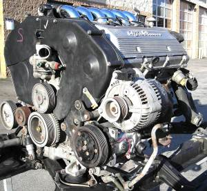 engine 164Q motor assy complete 82K II low res