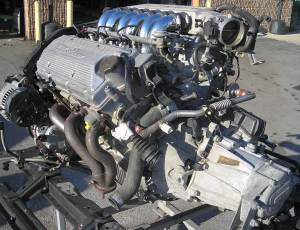 engine 164Q motor assy complete 82K III low res