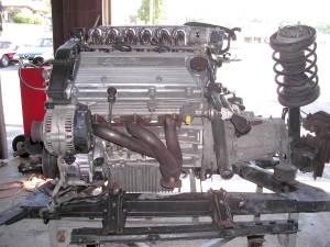 HOT!¡ 164Q motor complete. 82,000 miles IIII
