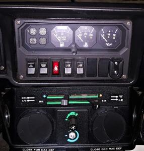 callaway interior detail
