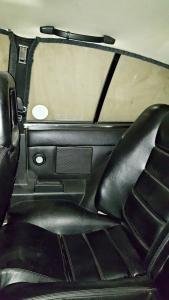 callaway rear passenger seat