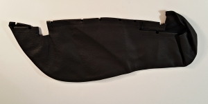 Leather seat bolster right bottom